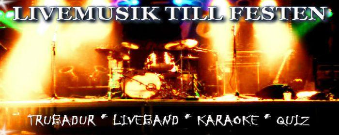Livemusik till fest